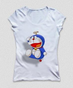 Doraemon Flying White Female