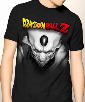 Kaos Dragonball Z Cell Black 3D
