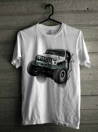 Kaos Jeep 3D Exclusive