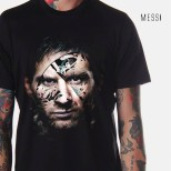 kaos gambar messi, lionel messi, messi 3d t-shirt, kaos barca messi, barcelona