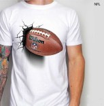 Kaos NFL White, Bola Rugby