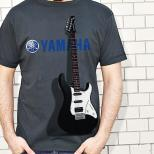 Kaos GUITAR YAMAHA 3D, Yamaha Guitar DARK GREY 3D