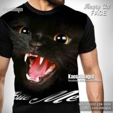 Kaos KUCING, Kaos ANIMAL LOVER, Kaos CAT LOVER, Kaos PENYAYANG KUCING