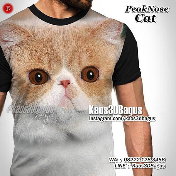 Kaos Kucing Kaos Cat Lover Kaos3d Kaos Pecinta Kucing