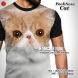 Jual Kaos 3d Gambar Kucing Kaos Cat Lover 3d Kaos