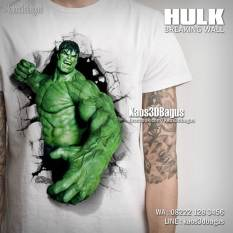 Kaos HULK, Kaos THE AVENGERS, Gambar HULK