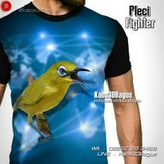 Kaos Burung Pleci, Kaos Kicau Mania, Kaos 3 Dimensi, Kaos Gambar Burung