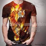 Kaos Macan Loreng, Kaos Harimau Sumatera, Kaos Tiger