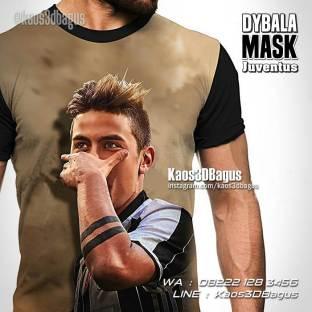 Kaos JUVENTUS - Dybala Mask - Kaos3D - Paulo Dybala - Kaos Bola