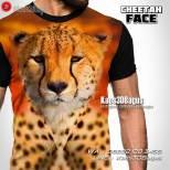 Kaos Cheetah, Kaos Harimau Tutul, Kaos3D
