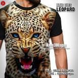 Kaos MACAN TUTUL, Kaos3D, Harimau, Macan, Tiger, Leopard, Jaguar, Wild Life