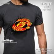 Kaos Bola MU, United Fans, Kaos Logo MU