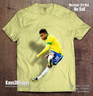 Kaos Gambar NEYMAR, Kaos3D, Kaos BOLA, Barcelona Neymar, Brazil Neymar
