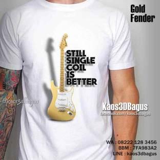 Kaos Gitar Elektrik, Kaos3D Bagus, Kaos3D Umakuka, Kaos Gitar FENDER, Kaos Band, Seragam Sekolah Musik, Music School Indonesia