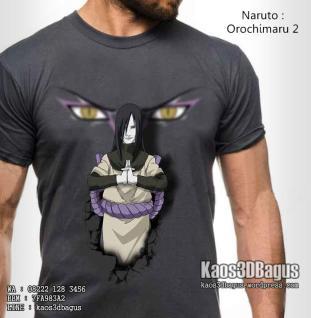 Kaos Film Naruto, Orochimaru, Kaos3D