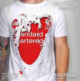 Kaos LIVERPOOL Jersey Robek, Kaos3D Bola, Liverpool Indonesia, Bigreds Indonesia, Liverpool Fans