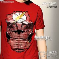 Kaos 3D Six Pack - THE FLASH Old Six Pack