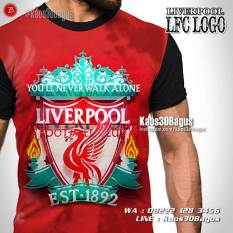 Kaos3D, Kaos Bola Liverpool, Logo Liverpool, Kaos Futsal
