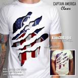 Kaos 3D Captain America, Kaos Superhero 3D, Kaos The Avengers 3D, kaos3d, Kaos 3D Bagus, Kaos 3D Umakuka, Kaos 3D Murah