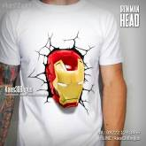 Kaos IRON MAN, Kaos Kepala Iron Man, Kaos Iron Man Mask, Kaos 3D Superhero, The Avengers, Kaos 3D, Kaos 3D Bagus, http://www.facebook.com/kaos3dbagus, WA : 08222 128 3456, LINE : kaos3dbagus