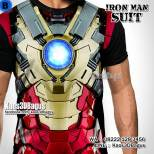 Kaos THE AVENGERS Iron Man, Iron Man Costume, Kaos3DBagus