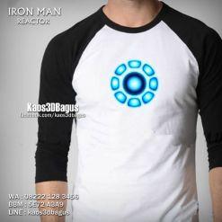 Kaos 3D IRON MAN REACTOR, Kaos IRON MAN 3 Dimensi, Kaos3D, Kaos 3D Bagus, Kaos 3D Umakuka