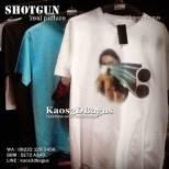 Kaos 3D, Kaos SHOTGUN, Kaos SENAPAN, Kaos3DBagus, http://instagram.com/kaos3dbagus, WA : 08222 128 3456, LINE : kaos3dbagus