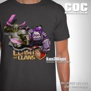 Kaos PEKKA, GOLEM, Kaos Tokoh COC, Kaos Clash Of Clans, Kaos 3D, https://www.facebook.com/kaos3dbagus, LINE : @kaos3dbagus, WA : 08222 128 3456