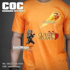 Kaos GAME COC, Kaos COC, Clash Of Clans, Wizard, Kaos 3D, https://www.facebook.com/kaos3dbagus, WA : 08222 128 3456, LINE : @kaos3dbagus