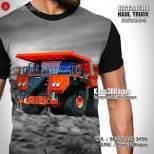 GROSIR KAOS - Kaos TRUK TAMBANG - Hitachi Haul Truck EH5000AC-3 - Kaos3D Dump Truck