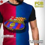 Grosir Kaos3D - Barca Logo Barcelona