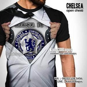 Grosir Kaos3D - Chelsea Open Chest