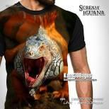 Kaos Gambar Iguana, Iguana Lovers, Kaos Reptil, Reptile Tshirt, Kaos Animal