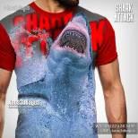 Kaos Gambar Ikan Hiu, Kaos Animal, Shark Lover, Kaos3D