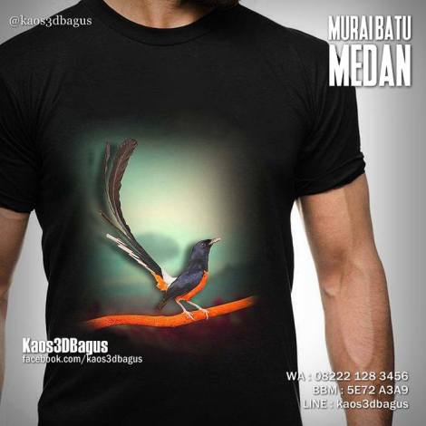 Kaos Burung Murai, Kaos Kicau Mania, Kaos Klub Burung