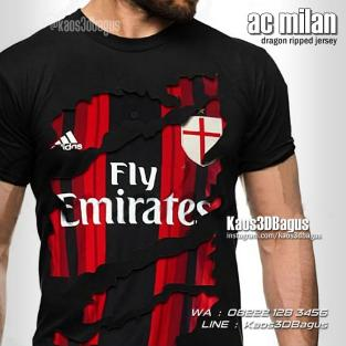 Kaos3D, Kaos Bola, Milanisti Indonesia