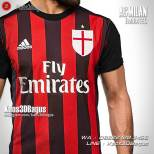 Kaos Bola, Kaos Futsal AC Milan, Milanisti Indonesia
