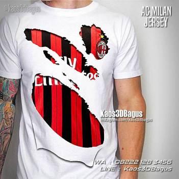 AC Milan Indonesia, Kaos3D, Kaos Futsal, Jersey AC Milan