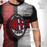 Kaos AC MILAN - Kaos3D Bola - AC Milan Logo 1899