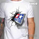 Kaos Logo Tamiya, Mini4WD, Kaos3D