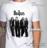 Kaos THE BEATLES, Kaos 3 Dimensi, Paul Mc Cartney, Ringo Starr, George Harrison, Rock N Roll Legend