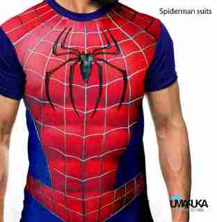 GROSIR KAOS 3D MURAH - Kaos Spiderman Suit - Grosir Kaos SUPERHERO