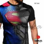 GROSIR KAOS 3D MURAH - Superman Suit - DC SUIT