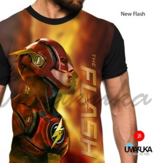 GROSIR KAOS 3D MURAH - The Flash - New Flash