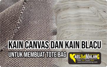 Kain Blacu Kain Canvas Bahan Membuat Tote Bag