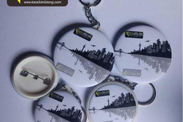 Malang - Bahan Pembuatan PIN dan Gantungan Kunci Ganci