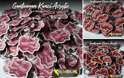Galeri Gantungan Kunci Acrylic Murah dan Berkualitas