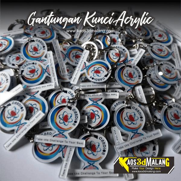 Gantungan Kunci Acrylic Murah dan Berkualitas di Kota Malang