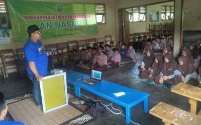 Kaos 3D Malang mengadakan Workshop Sablon di SMP. An-Nashr Malang