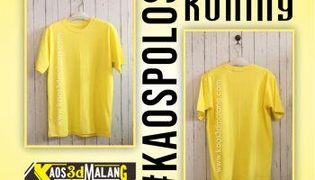 Kaos Polos Warna Kuning